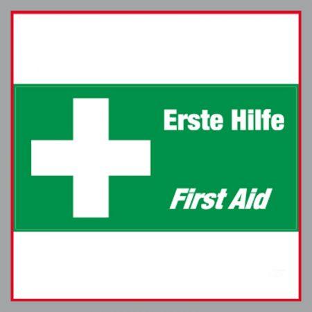 Erste Hilfe Plane