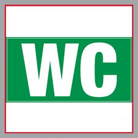 WC Bauzaunplane