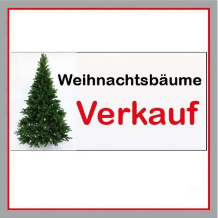 Weihnachtsbäume Verkauf Plane