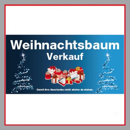 Weihnachtsbaum Verkauf blau