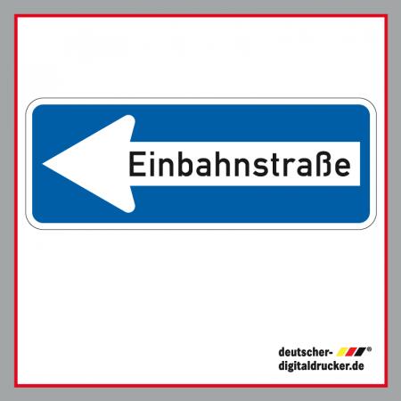 Verkehrszeichen bestellen, Einbahnstraße Schild, Einbahnstraße Tafel, Verkehrsschild