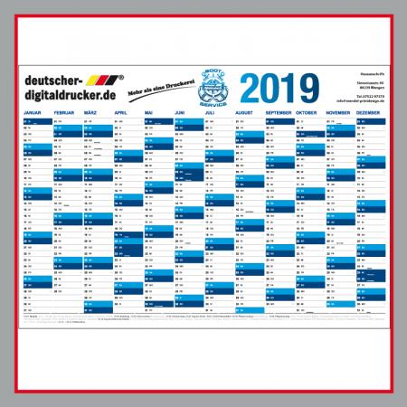 Kalender, Kalender 2019, XXL Kalender, Wandkalender, Firmenkalender
