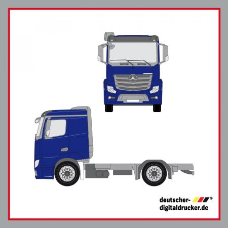 Folie für LKW, Vollverklebung LKW, Folie, Werbetechnik, Beschriftung, LKW, Lastwagen
