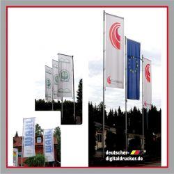 Werbefahne, Werbeflagge drucken lassen