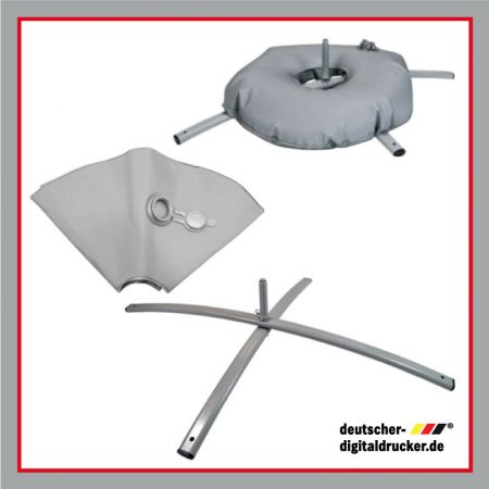 Gewicht für Kreuzfuss, Schlauchgewicht für Beachflag