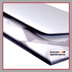 Werbetafeln, Dibond, Aluminiumtafel, Tafel, Schild, Bauschild, stabiles Bild