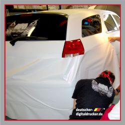 Auto, Folie, Autofolierung, KFZ-Folierung, folieren, Vollverklebung eines Crysler, Vollfolierung