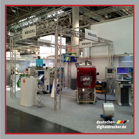 Messestand, RGS Systems, Drupa 2016, Messeausstattung, Messestandsplanung, Messehilfe