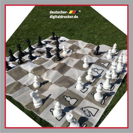 Schach, XXL Gartenspiel, Outdoorspiel, Gemeinschaftspiel, Veranstaltungsspiele, Kindergarten, Hotel