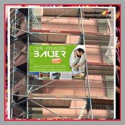 Sicherheit Bauzaunplane, Sicherheitshinweisse für Gerüst, Gerüstplane, Gerüstwerbung