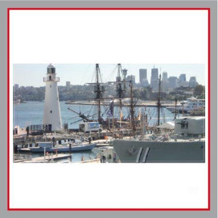 Hafen Bauzaunplane