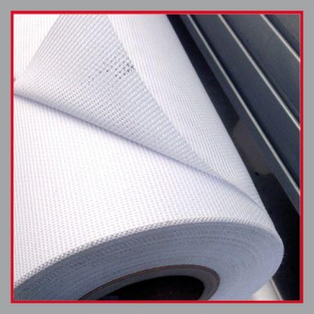 Bauzaunplane Material