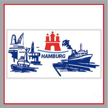 Hamburg Bauzaunplane