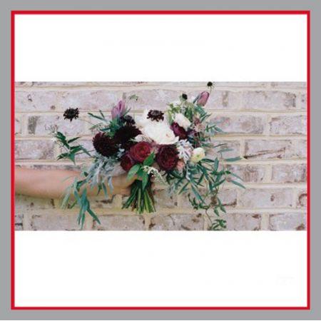 Blumenstrauß Mauer